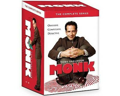 Monk: The Complete Series New DVD