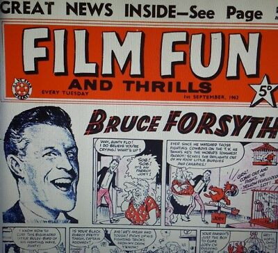Film Fun Comics Annuals Retro Vintage Comics On Dvd