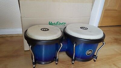 Meinl Headliner HB100 Bongos in rare Blue Burst colour.  Collection available