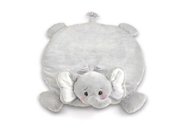 Bearington Lil' Spout Stuffed Animal Elephant Baby Mat, Belly Blanket, Tummy...