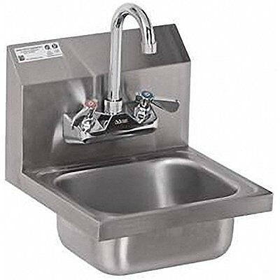 ACE Ultra Space Saver Wall Mount Stainless Steel Hand Sink With No Lead