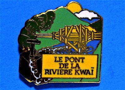 The Bridge On The River Kwai Movie - Vintage 1992 Lapel Pin - French Title