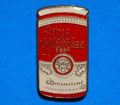 Old Milwaukee - Beer Can - Vintage Lapel Pin - Hat Pin