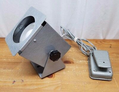 Mercury Electric Sewing Machine Foot Pedal 701 Knee 702 Foot hooked up to Light