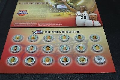 the plain dealer cleveland cavaliers 2007 medallion collection