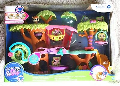 Littlest Pet Shop: Magic Motion Tree House (Lps, Casa Arbol). Rare, Brand New!