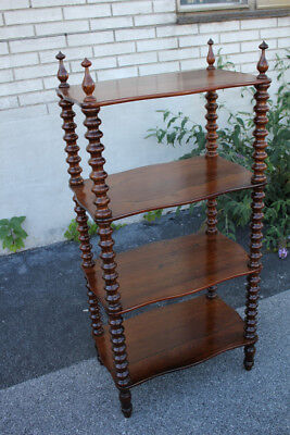 Victorian Rosewood Four-Tier Stand