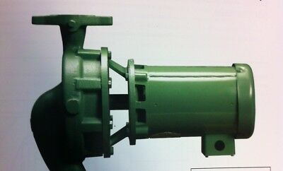"""Taco 1915C1E10133180 Closed-Coupled In-Line Pump, 1-1/2"""" (40) Mm Suction , 1 1/2"""