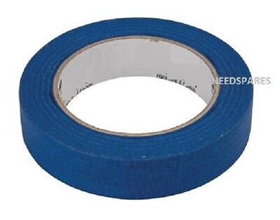1 BIG Roll UV Resistant Blue Painters Clean Peel Masking Tape 25mm-x-50M CHEAP