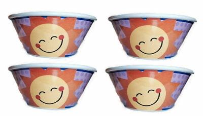 2015 SET OF 4 Sunny Cereal Bowls COLLECTIBLE, LIMITED!