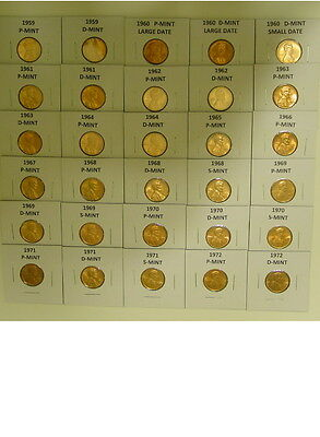 142 Hand Picked 1955 To 2017 Choice Bu Wheat And Memorial Pennys 7 1982 Types