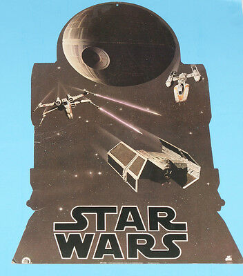 Star Wars 1977 20Th Century Fox 2 Sided Store Display