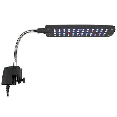AQUANEAT® Aquarium Led Light Plant 48 LEDs Clip Lamp Multi-Color Full Spectrum