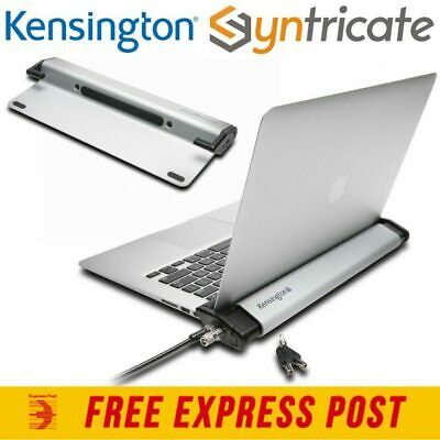 Kensington Locking Station With Microsaver 2.0 Lock For Macbook/thin Laptop