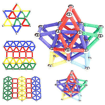 Xmas Hot Kids Magnetic Cute Construction Building Blocks Party Educational Toys