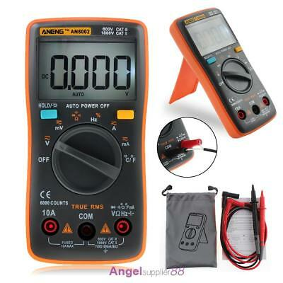 ANENG AN8002 True-RMS Digital Multimeter 9999 Counts Square Wave Voltage Ammeter