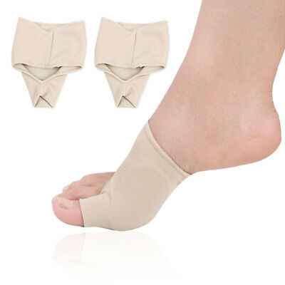 Nude Color Two Size Foot Health Care Bunion Pads Spandex Gel Feet Cushions Pro