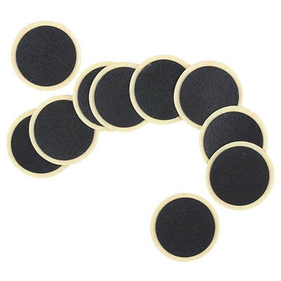 Round Rubber Patch Bicycle Bike Tire Tyre Puncture Repair Piece Patch Kit ToolPB