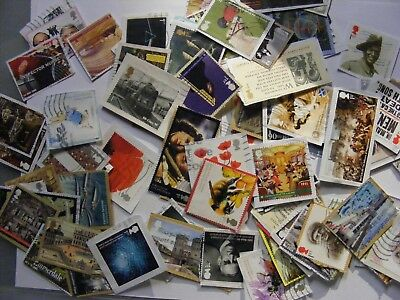 100 Com 2006 to 2016  stamps on paper (lot 1193)
