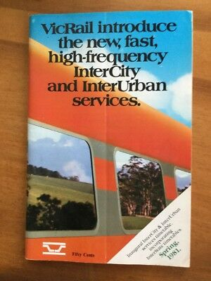 VicRail Spring 1981 Country Timetable