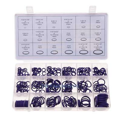 270 Pcs 18 Sizes Kit Air Conditioning Car Auto Vehicle HNBR O Rings Repair TN2F