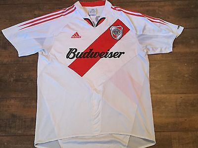 2004 2005 River Plate Adults XL Home Football Shirt Argentina Camiseta