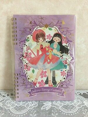 Sakura Tomoyo Kero chan Card Captor Sakura Notebook Stationery Official Japan