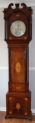 Mahogany Astronomical Regulator longcase clock deadbeat WATCH VIDEO