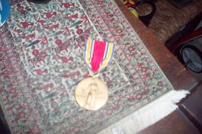 WWII 1941-1945 US Victory Medal Freedom From Fear Want Speech and of Religion