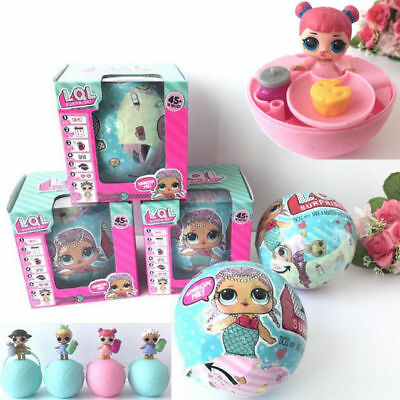 UK Stock LOL Lil Outrageous 7 Layers Surprise Ball Doll Blind Mystery Toys Gifts