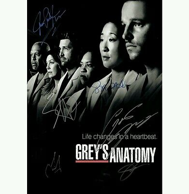 Script Screenplay  Greys Anatomy   Printed Signed Cover