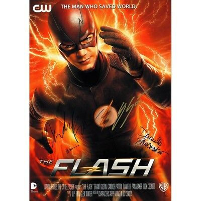 Script Screenplay  The Flash  Cast Signed Printed Pilot Episode Repro