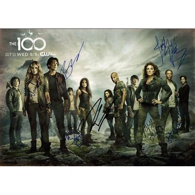 Script Screenplay The 100 Cast Signed Printed Pilot Episode Repro
