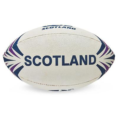 Official Licensed Rugby Scotland R.u. Rugby Ball Midi