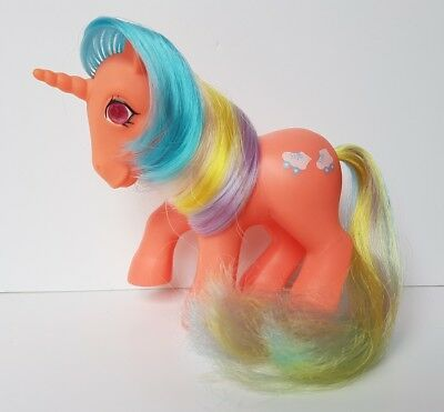 My Little Pony G1 Vintage Speedy Unicorn Twinkle Eyed Pony (1985 HONG KONG)