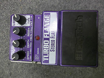 Digitech XTF Turbo Flanger guitar/bass pedal New Boxed. waranteed Free shipping.