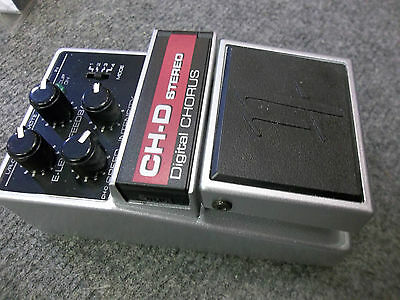 Nobels CHD Chorus guitar/bass pedal. New, boxed, warranteed. Vintage sound