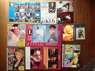 Madonna Cover & Clippings 1988/89