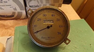 Vintage Ford Rat Rod Kit Car Truck Lorry Special Cooper Stewart Speedometer
