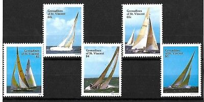 Yacht Racing stamps - MNH - 1988 - Grenadines of St Vincent
