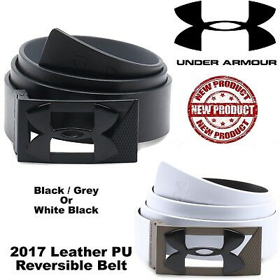 Under Armour Golf Belt Pu Leather Golf Belt All Sizes Reversible New Mens Belt