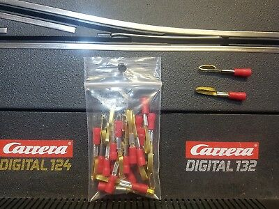 carrera digital 132 slot car power supply clips