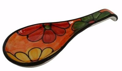 Spoon Rest 27 x 10 cms  Kitchenware Traditional Spanish Handmade Ceramic Pottery