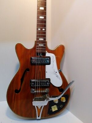 kay EP-8T hollow body electric 6 string guitar