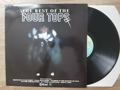 The Best Of The Four Tops ~  1982 Uk Vinyl Lp