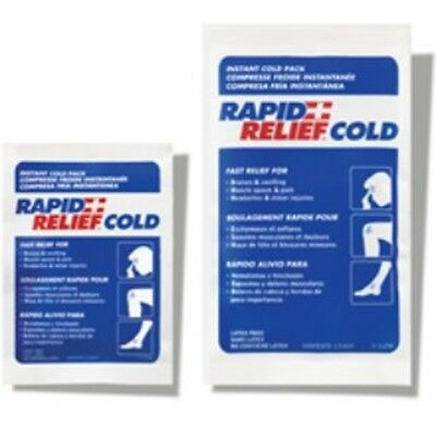FIFTY Rapid Aid INSTANT PACK COLD 4″x6″ RAPID RELIEF