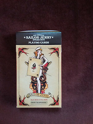 Sailor Jerry Original Vintage Playing Cards. Brand new in original packaging