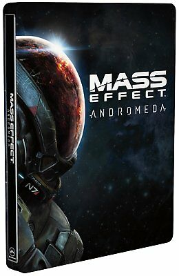 Mass Effect Andromeda Limited Steelbook Case (No game)