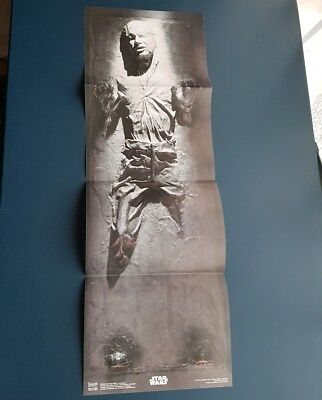 'Star Wars' Han Solo in Carbonite Poster - 69cm x 23cm - Loot Crate Item - *NEW*