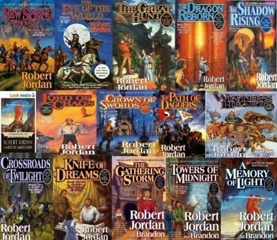 Wheel of Time by Robert Jordan 1-15 Audiobook Collection MP3-DVD